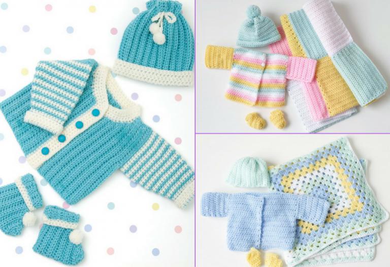35+ Free Baby Set Crochet Patterns