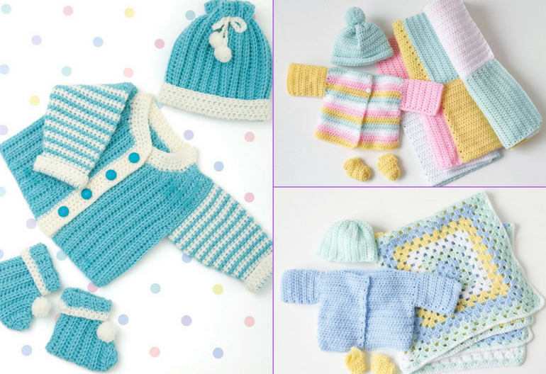 35 Free Baby Set Crochet Patterns Crochet Divas
