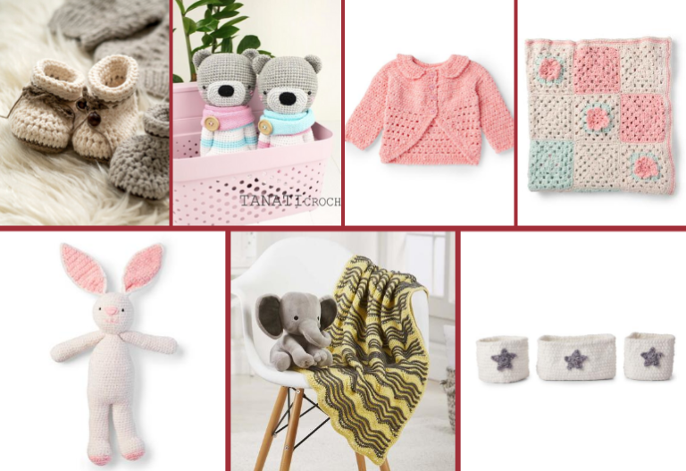 7 Super-Cute Baby Crochet Projects